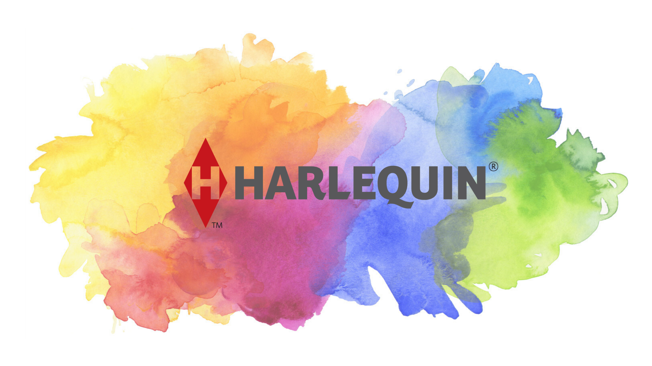 image_Harlequin logo_Water colour splash